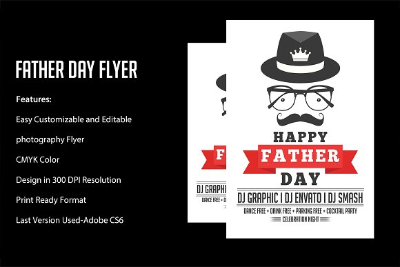 Fathers Day Flyer Poster