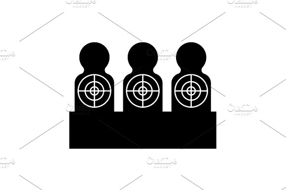Targets For Shooting Target Icon