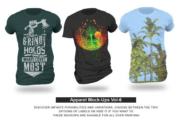 Apparel Mock-Ups Vol-6