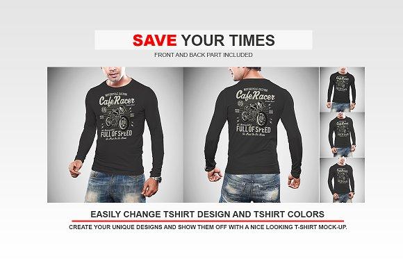 Long Sleeve Tshirt Mockup Vol-1