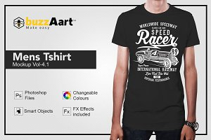 Mens Tshirt Mockup Vol-4.1