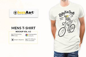 Mens Tshirt Mockup Vol-4.2