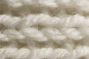 White Wool Knitting Texture