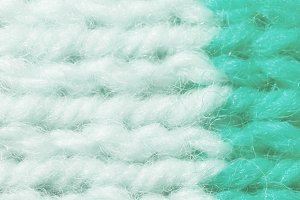 White Blue Wool Knitting Texture
