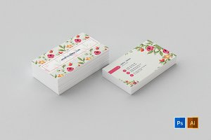 Business Card Template 58