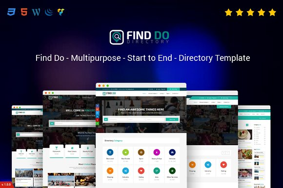 Find Do Multipurpose HTML5 Directory