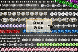 Diamond Borders Clipart