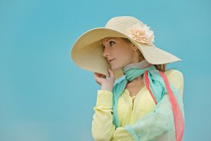 Woman with hat #2