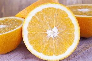 juicy ripe orange