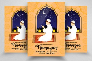 Islamic Event Ramadan Flyer Template