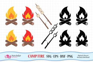 Fire Camp SVG