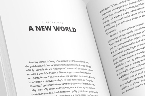 Full Book InDesign Template V.1