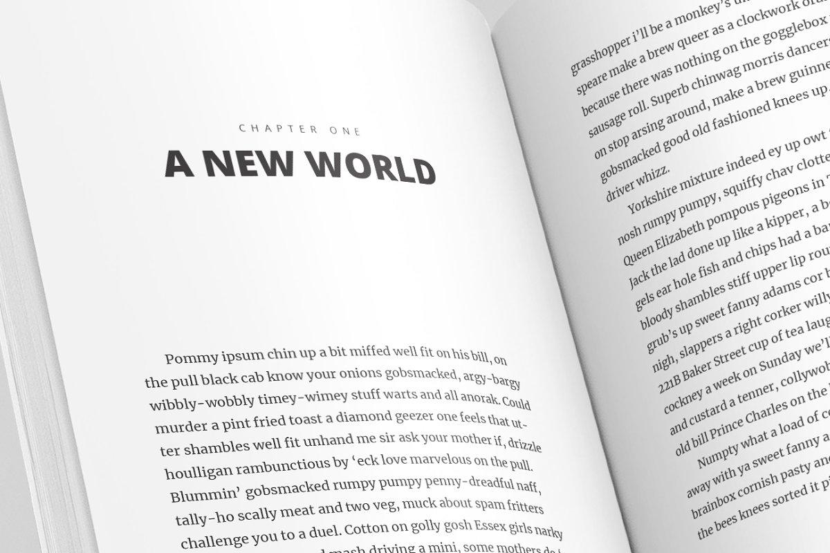 Full Book InDesign Template - V 1 ~ Magazine Templates