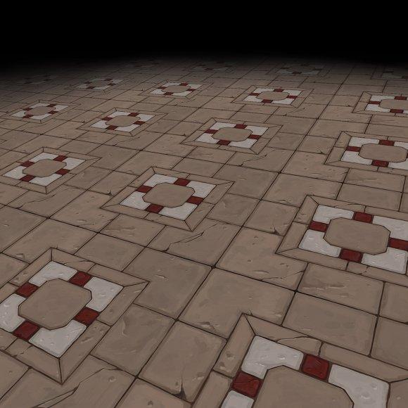 Medieval Floor Tile 3