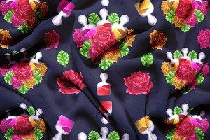Rose Serum Illustrations + Pattern