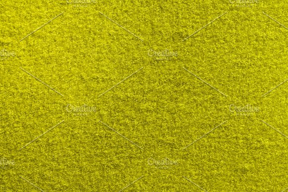 Yellow Fleecy Material Texture