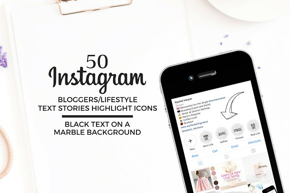 BLOGGER/LIFESTYLE Instagram Icons
