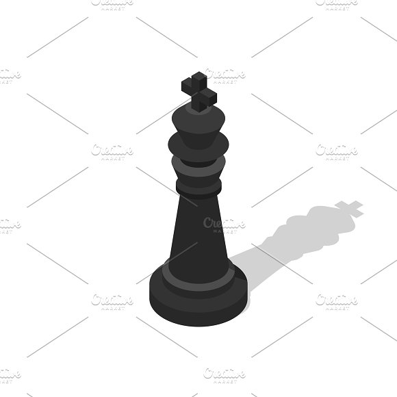 Vector Icon Of Chess