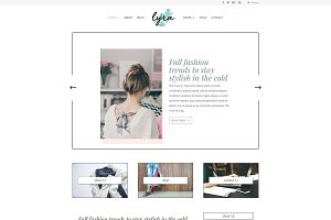 Lyra - Feminine WordPress Theme