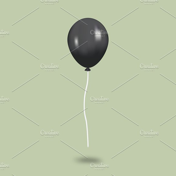 Vector Image Of Balloon Icon