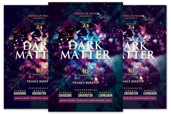 Dark Matter Flyer