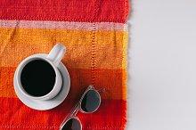 Clear Sunglasses : Black Coffee