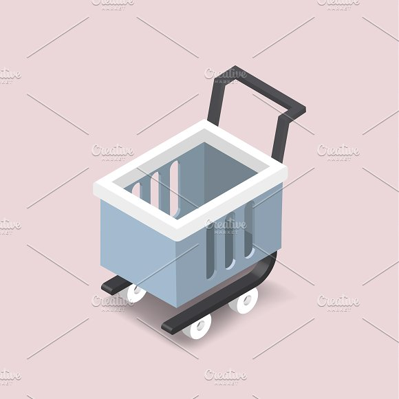 Vector Image Of Shopping Cart