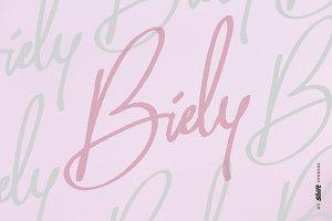 Biely Marker Font