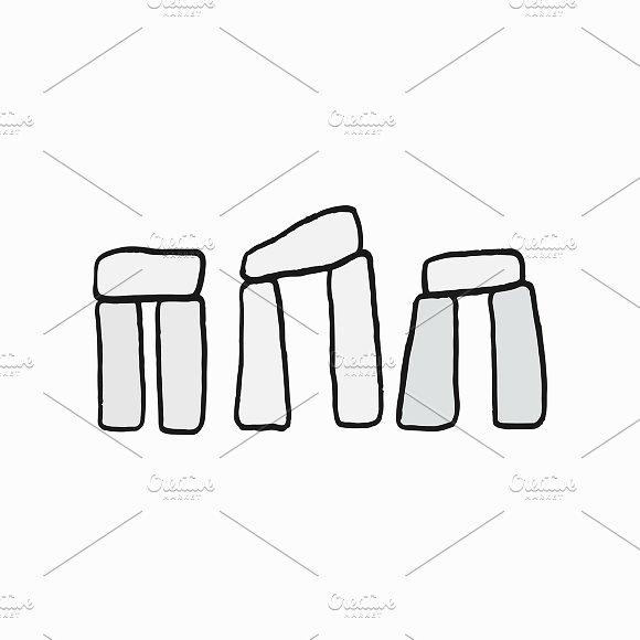 Illustration Of Stonehenge Cultural
