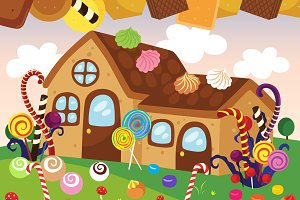 Hansel and Gretel Cookies House