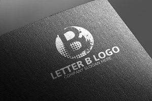 B Letter Logo 50% Discount!