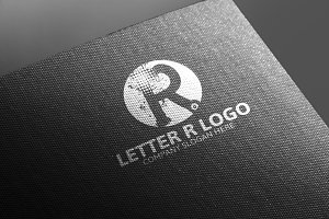 R Letter Logo -50% Discount!