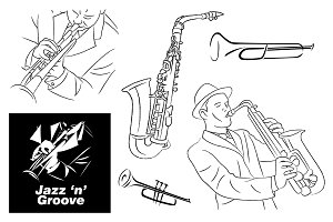 Jazz & Groove Sketch & Elements