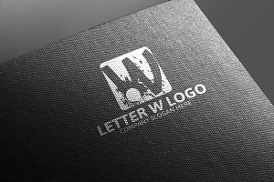 W Letter Logo -50% Discount!