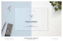 Brand Guidelines - Landscape by Imagearea in Brochures