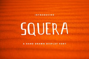 SQUERA Font For Header & Book Text