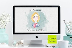 Watercolor Portrait Creator