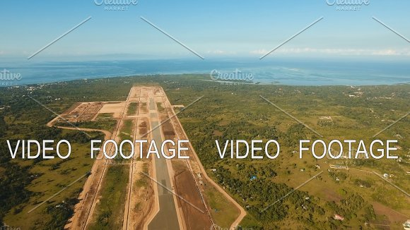 Construction Of A New Airport Terminal.Philippines Bohol Panglao