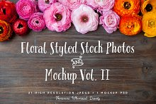 floral styled stock