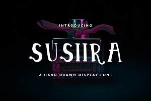SUSIIRA FONT CHILDISH & GIRLY