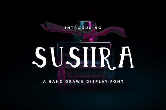 SUSIIRA FONT CHILDISH GIRLY