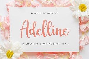 Adelline | beautiful elegant font