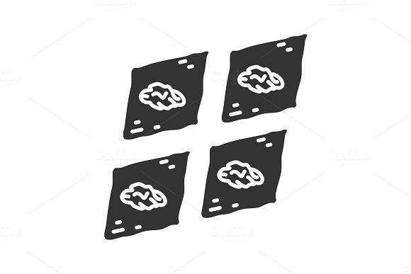 Baklava Glyph Icon
