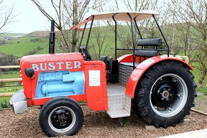 Red Tractor Buster