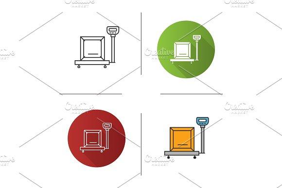 Parcel Scales Icon
