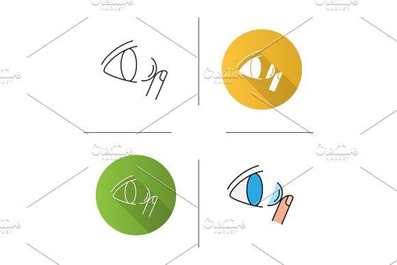 Eye Contact Lenses Icon