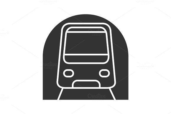 Metro Glyph Icon