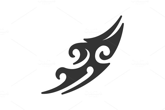 Tattoo Image Glyph Icon