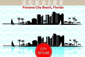 Panama City Florida SVG Vector