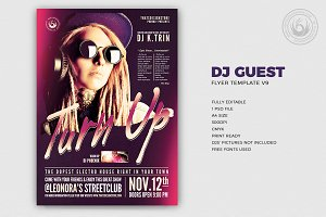 Dj Guest Flyer Template V9
